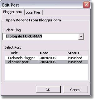 Blogger for Word