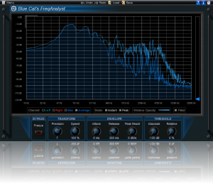 Blue Cat's FreqAnalyst Direct X(32 bit)