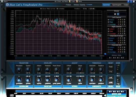 Blue Cat's FreqAnalyst Pro Direct X (64-bit)