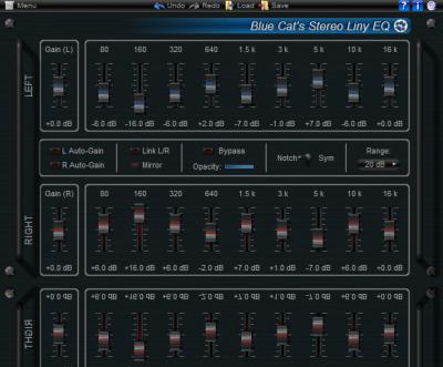 Blue Cat's Stereo Liny EQ VST (64-bit)