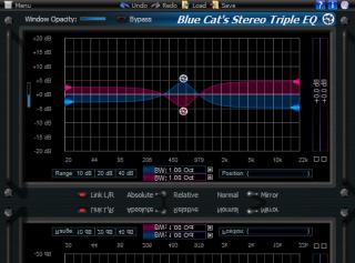 Blue Cat's Stereo Triple EQ Direct X (64-bit)
