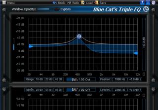 Blue Cat's Triple EQ Direct X