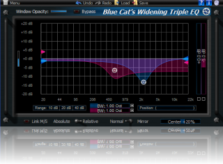 Blue Cat's Widening Triple EQ Direct X (64-bit)