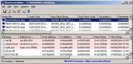 BlueScreenView (64-bit)