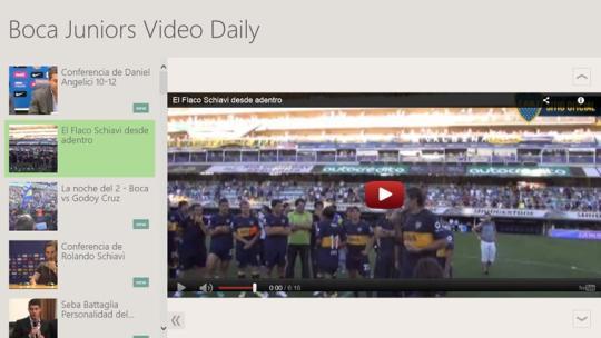 Boca Juniors Video Daily