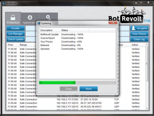 Bot Revolt Anti-Malware Free Edition