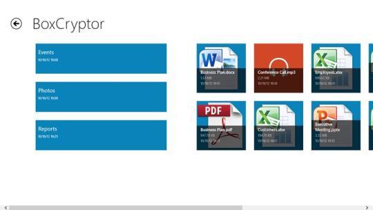 BoxCryptor for Windows 8