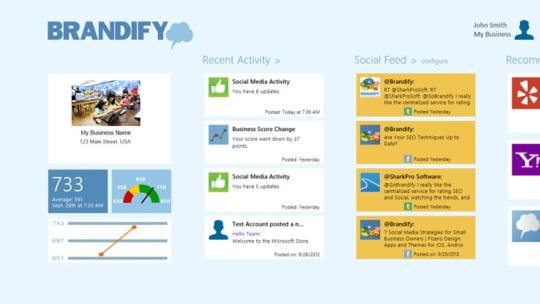 Brandify for Windows 8