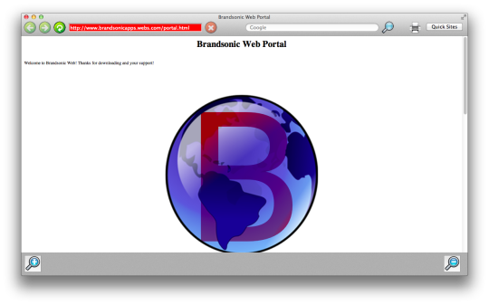 Brandsonic Web