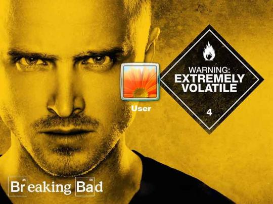 Breaking Bad Logon Screen