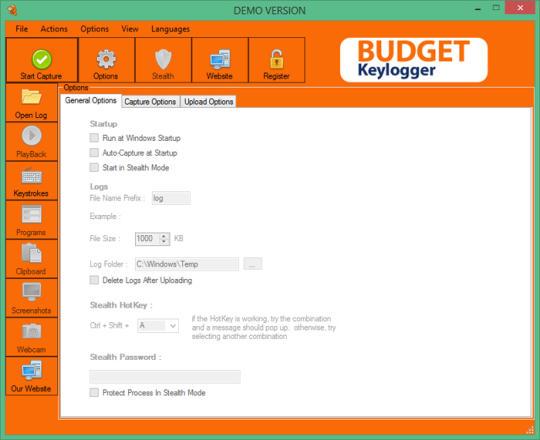 Budget Keylogger