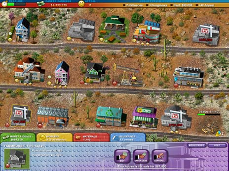 Build a lot 2 Town of the Year Game