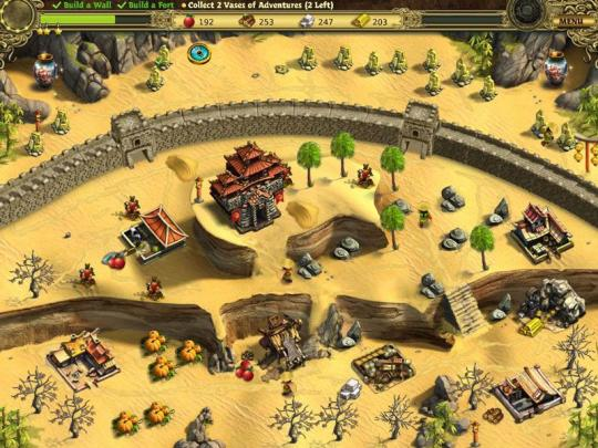 Building The Great Wall Of China CE