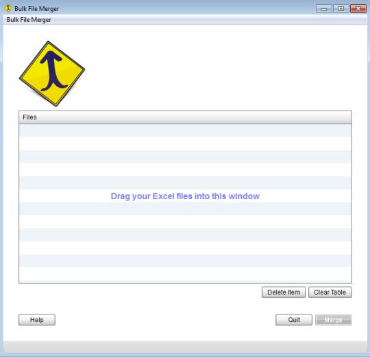 Bulk File Merger