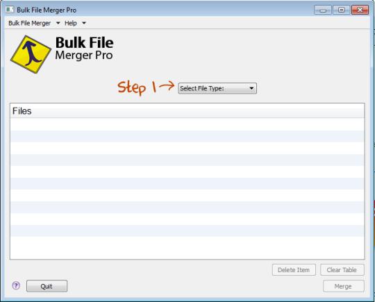 Bulk File Merger Pro