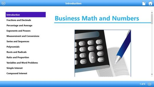 Business Math by WAGmob for Windows 8