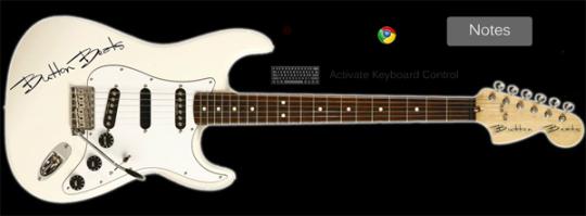 ButtonBeats Virtual Guitar