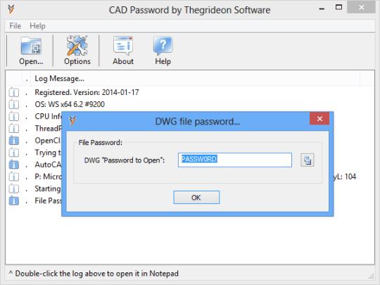 CAD Password