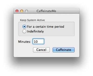 CaffeinateMe