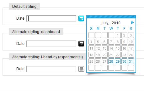 Calendar Class Javascript