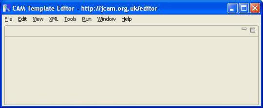 CAM Template Editor (64-Bit)
