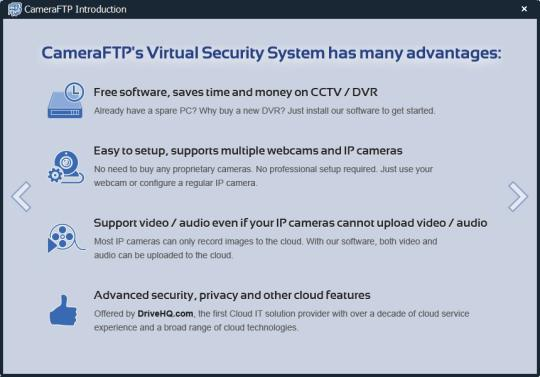 CameraFTP Virtual Security System