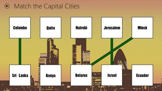 Capital Cities for Windows 8