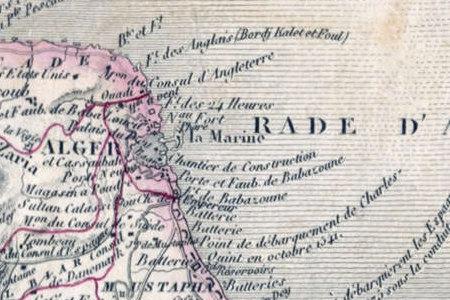 Carte de la Regence d'Alger