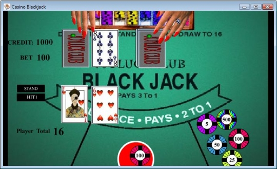 Casino Blackjack CGF