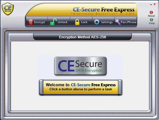 CE-Secure Free Express Encryption