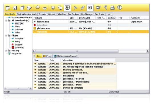 Celframe Fire Up Internet Manager
