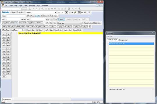CesarUSA Text Editor BS2