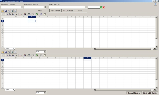 CFABS Reconciliation Tool