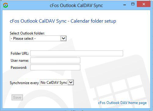 cFos Outlook DAV
