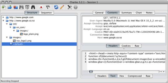 Charles Web Debugging (32 bit)