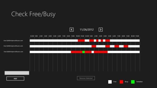 Check Availability for Windows 8