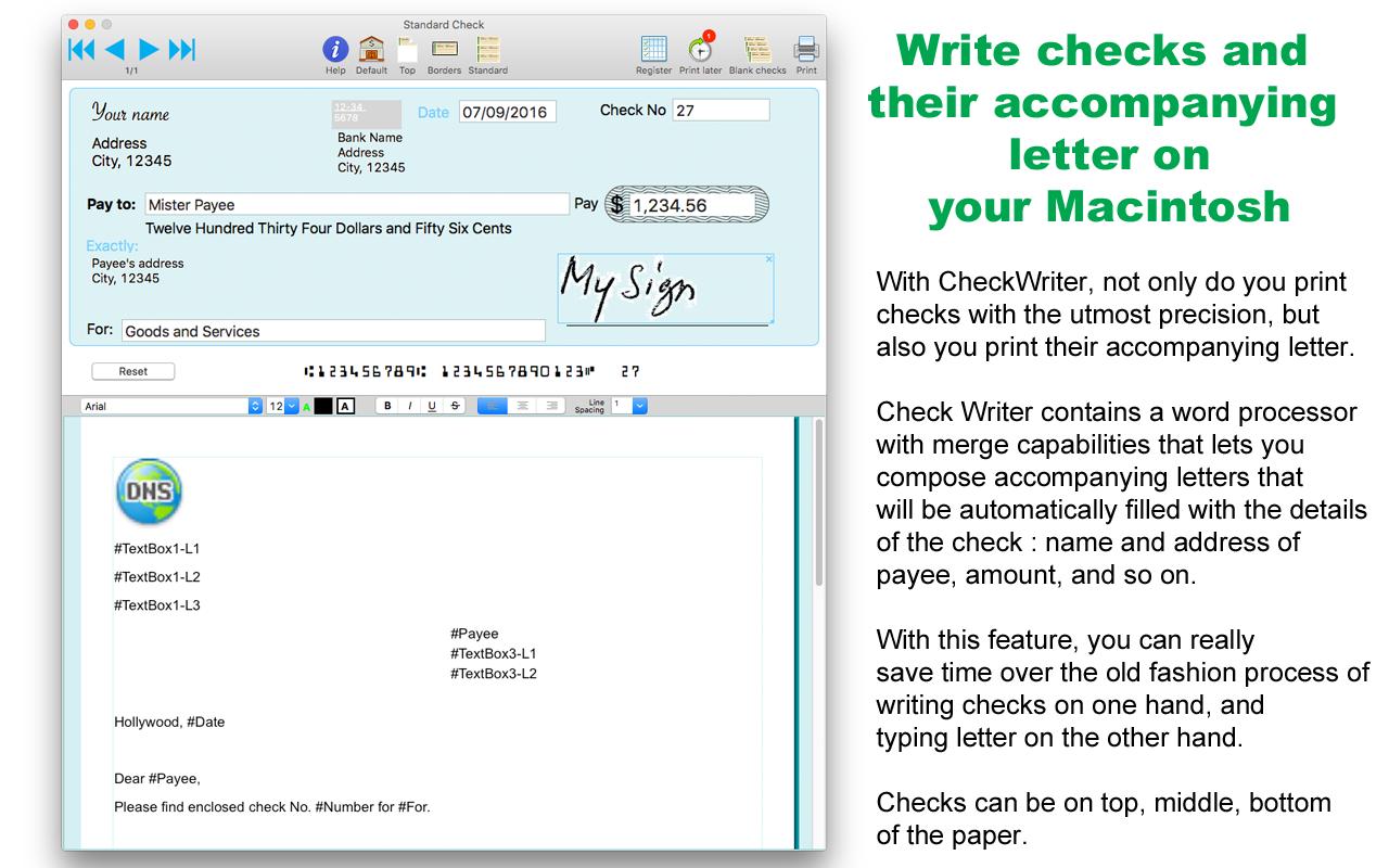 Check Writer III