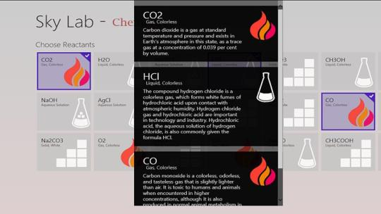 Chemistry Sky Lab for Windows 8