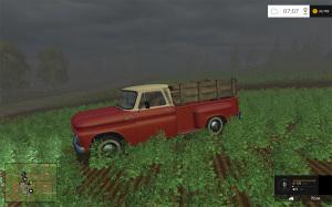 Chevrolet C10 Fleetside LWB 1966 V1.2 for Farming Simulator 2015 Game Mod