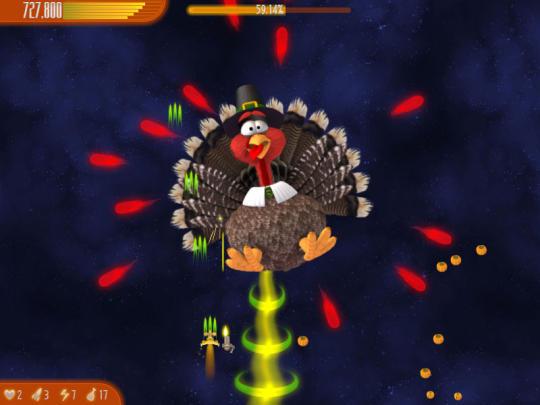 Chicken Invaders 4 Thanksgiving