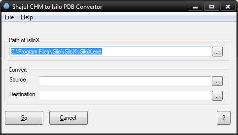 CHM to iSilo PDB Converter