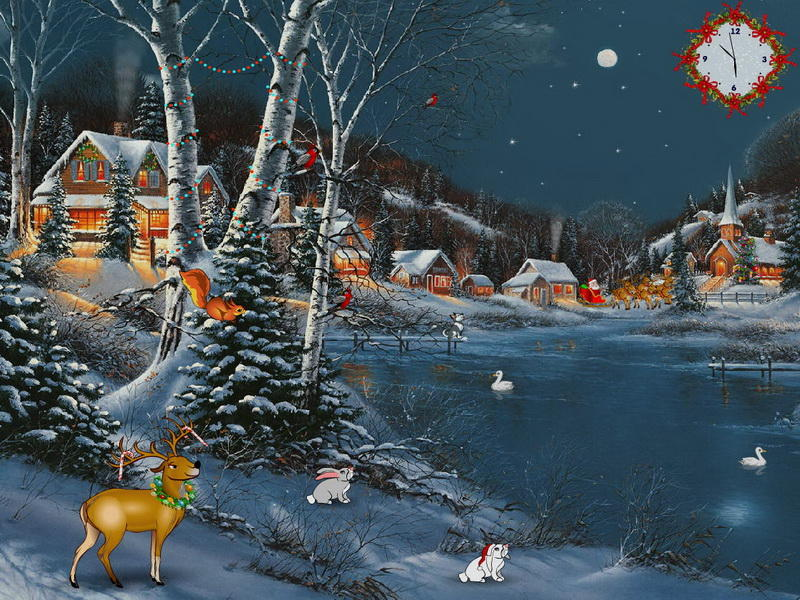 Christmas Delight Screensaver