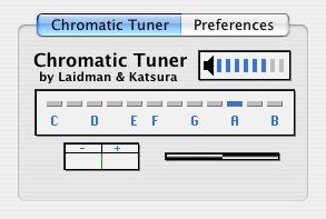 Chromatic Tuner AU