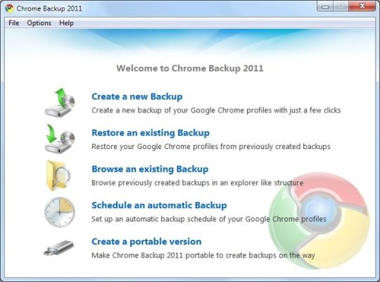 Chrome Backup 2011