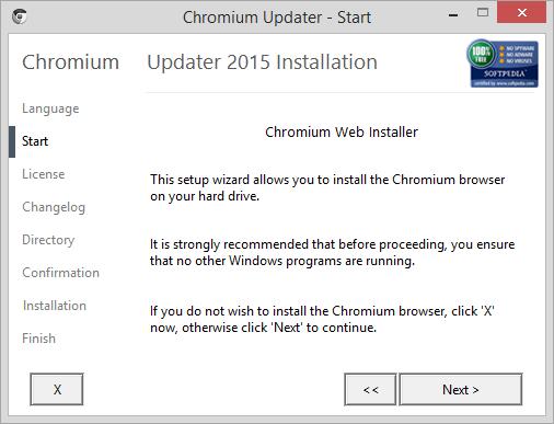 Chromium Updater