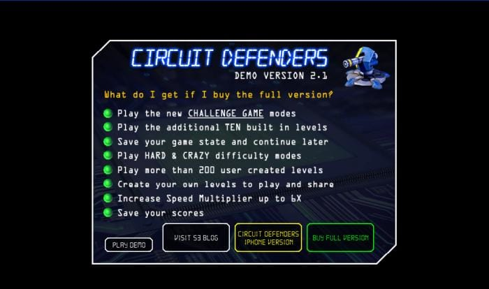 Circuit Defenders
