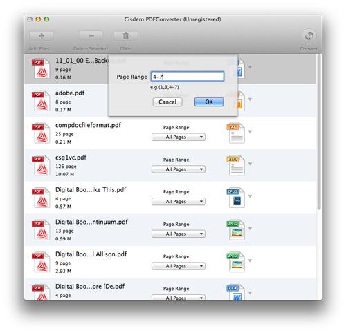 Cisdem PDFConverter for Mac