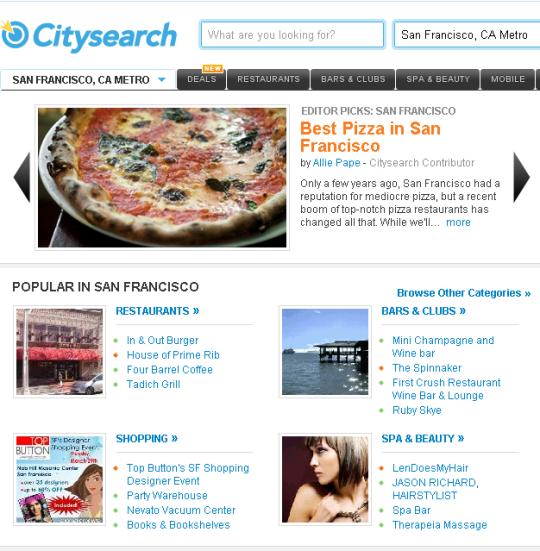CitySearch