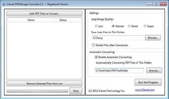 Clarest PDF2Image Converter