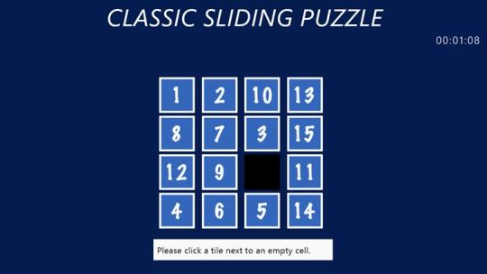 Classic Sliding Puzzle for Windows 8